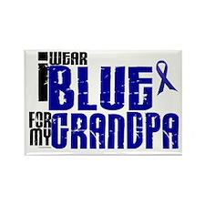 I Wear Blue For My Grandpa 6 Rectangle Magnet