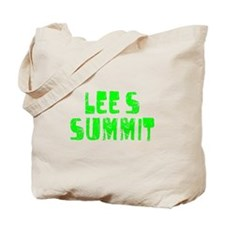 Lee's Summit Faded (Green) Tote Bag