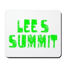 Lee's Summit Faded (Green) Mousepad