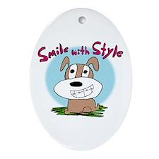 Kendog Braces Oval Ornament