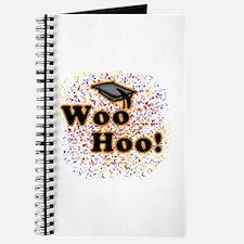 Woo Hoo Confetti Graduation Journal