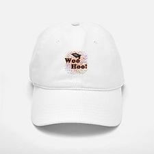 Woo Hoo Confetti Graduation Baseball Baseball Cap