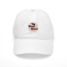 Woo Hoo Confetti Graduation Baseball Cap