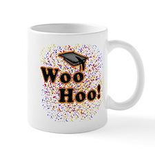 Woo Hoo Confetti Graduation Mug