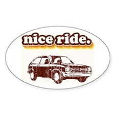 Nice Ride Oval Stickers