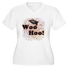 Woo Hoo Confetti Graduation T-Shirt