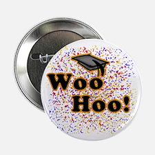"Woo Hoo Confetti Graduation 2.25"" Button (10 pack)"
