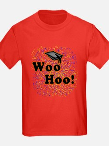 Woo Hoo Confetti Graduation T