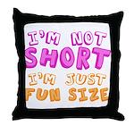 Fun Size Throw Pillow