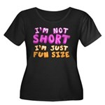 Fun Size Women's Plus Size Scoop Neck Dark T-Shirt