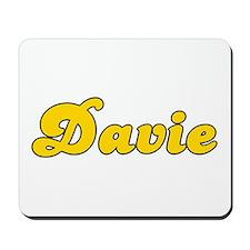 Retro Davie (Gold) Mousepad