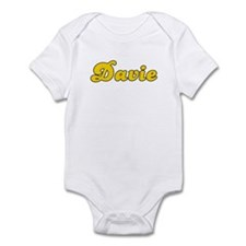 Retro Davie (Gold) Infant Bodysuit