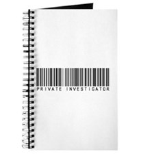 Private Investigator Barcode Journal