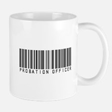 Probation Officer Barcode Mug