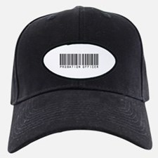 Probation Officer Barcode Baseball Hat