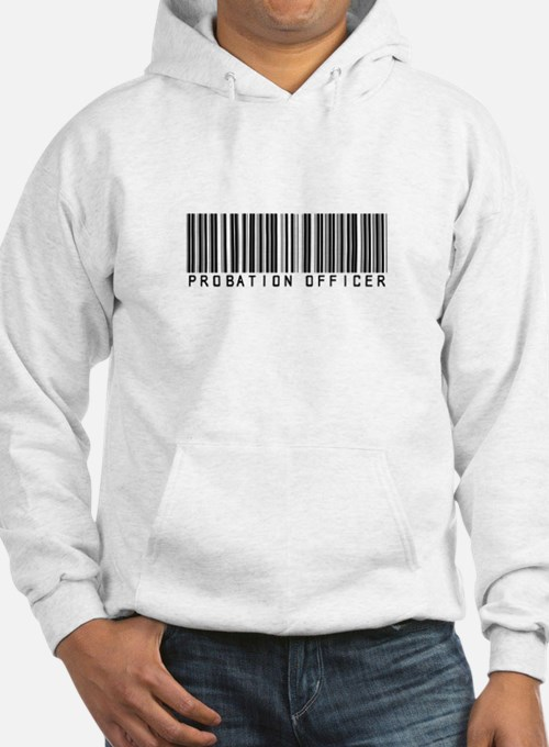 Probation Officer Barcode Hoodie