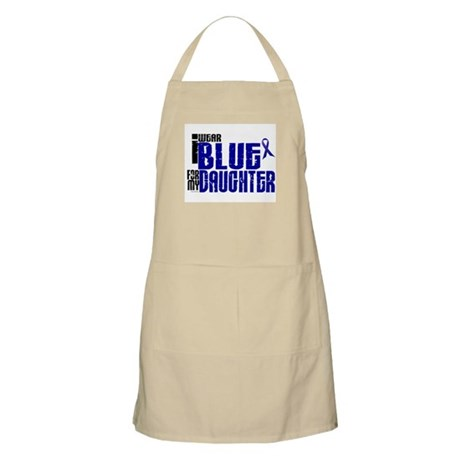 I Wear Blue For My Daughter 6 BBQ Apron