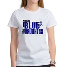 I Wear Blue For My Daughter 6 Tee