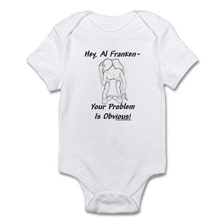 """Al Franken's Problem"" Infant Bodysuit"