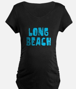 Long Beach Faded (Blue) T-Shirt