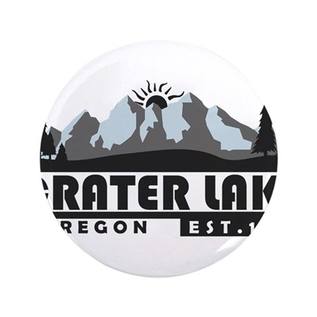 Crater Lake - Oregon Button