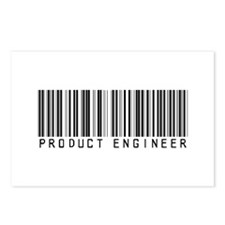 Product Engineer Barcode Postcards (Package of 8)
