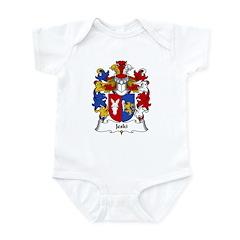 Jeski Family Crest Infant Bodysuit