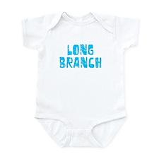 Long Branch Faded (Blue) Infant Bodysuit