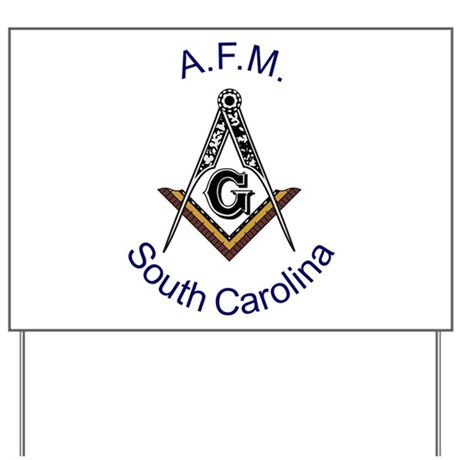 South Carolina Square and Com Yard Sign