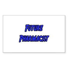 """Future Pharmacist"" Rectangle Sticker 50 pk)"