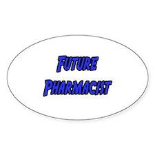 """Future Pharmacist"" Oval Decal"