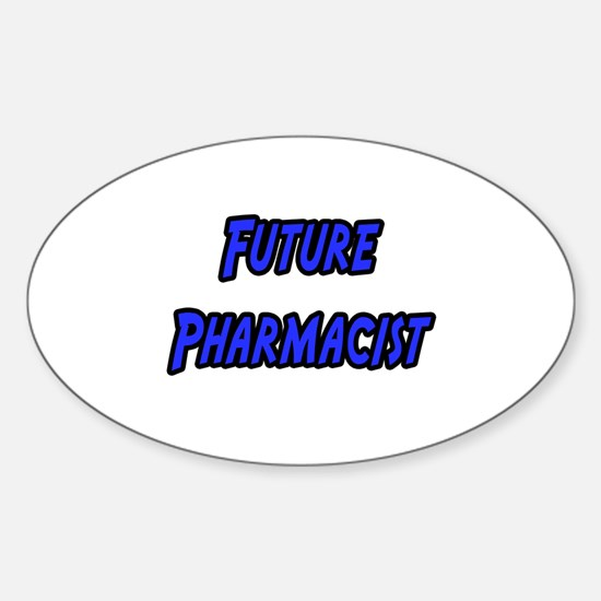 """Future Pharmacist"" Oval Decal"