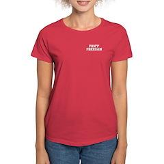 Foxy Freegan Women's Dark T-Shirt