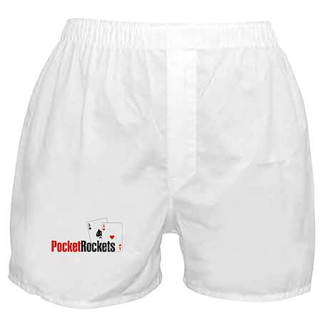 Pocket Rockets Poker Boxer Shorts