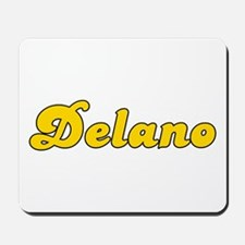 Retro Delano (Gold) Mousepad