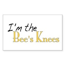 Bee's Knees Rectangle Decal