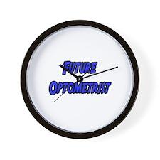 """Future Optometrist"" Wall Clock"