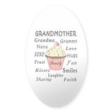 Grandma's Cupcakes For Grandmothers Decal