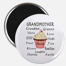 Grandma's Cupcakes For Grandmothers Magnet