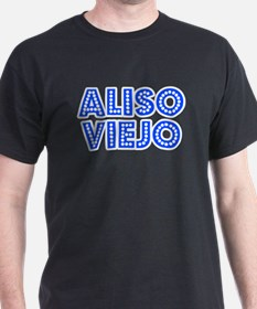 Retro Aliso Viejo (Blue) T-Shirt