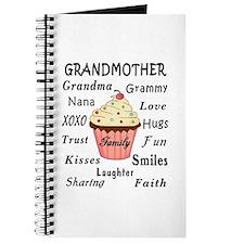 Grandma's Cupcakes For Grandmothers Journal