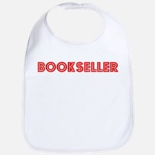 Retro Bookseller (Red) Bib