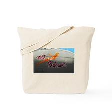 Miss Behavin' Tote Bag