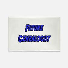 """Future Genealogist"" Rectangle Magnet"