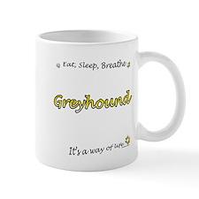 Breathe Yellow Mug