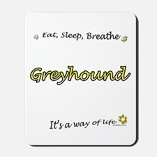 Breathe Yellow Mousepad