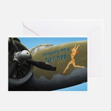 Prepared For Take Off Greeting Cards (Pk of 10