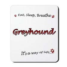 Breathe Red Mousepad