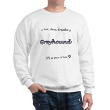 Breathe Purple Sweatshirt