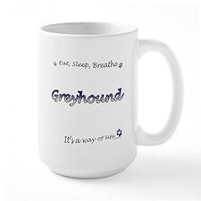 Breathe Purple Mug